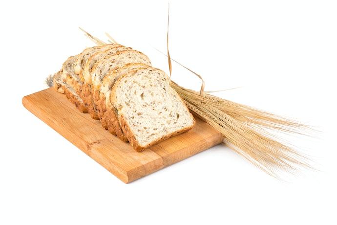100% Whole-Wheat Bread is High in Fiber
