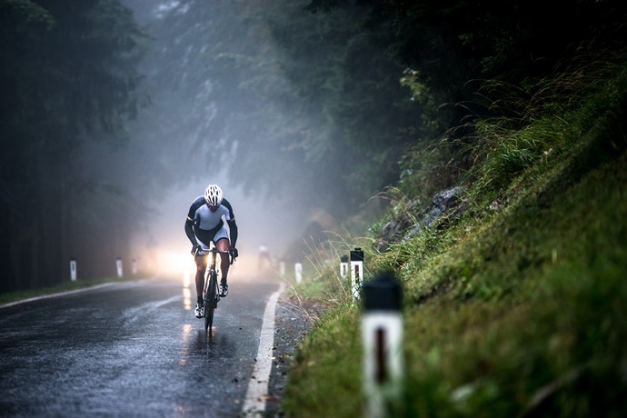 Pressure for Road Bikes, Volume for Thick Tires