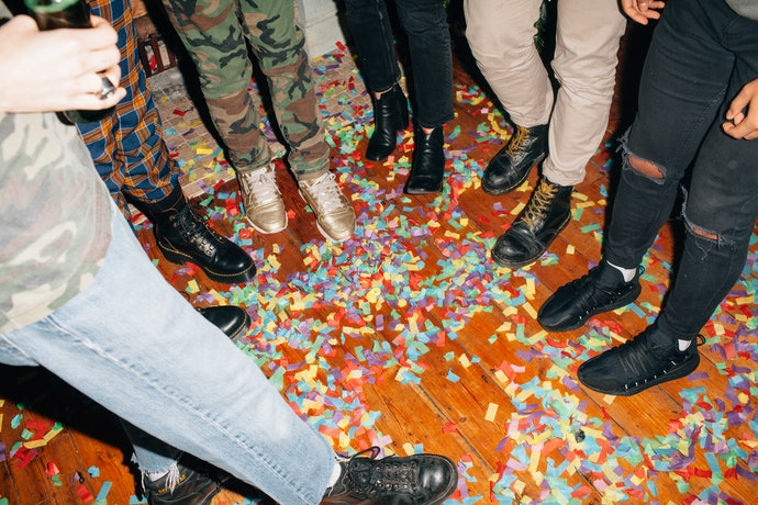Consider the Material That the Confetti is Made Of