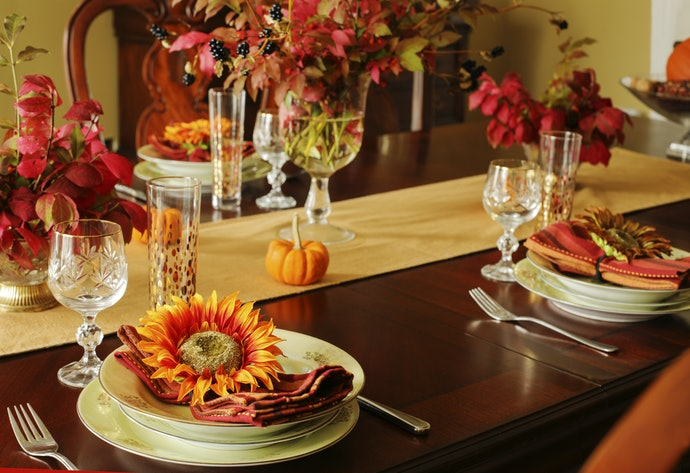 Create a Fall Spotlight in Your House for a Sweet Focal Point