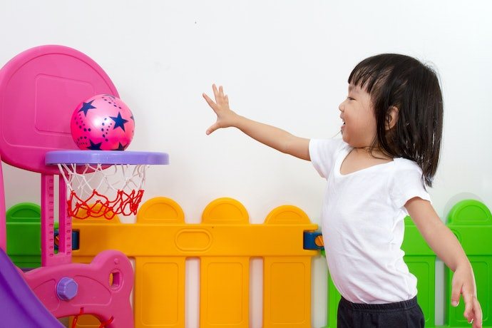 Hoops With an Adjustable Height are Great for Toddlers