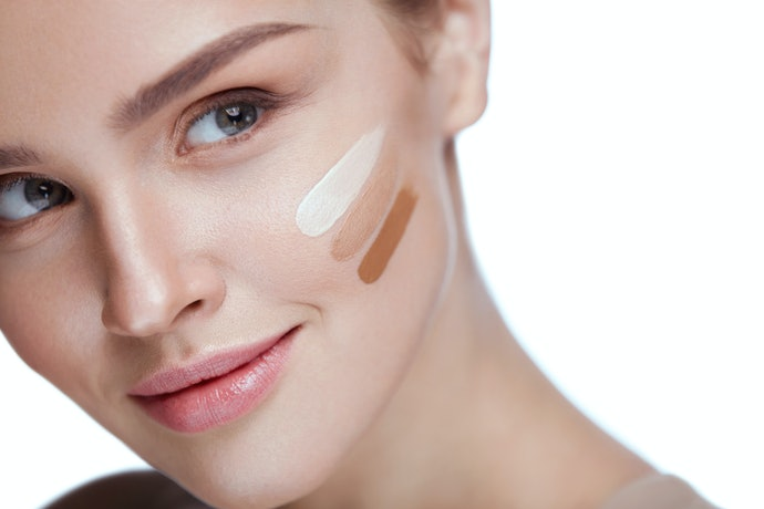 Consider One or Two Shades Lighter Than Your Skin Color