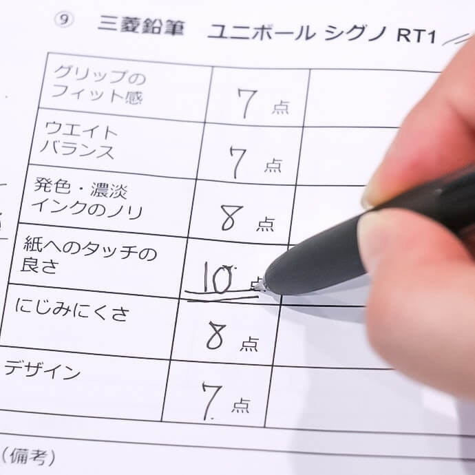 Mitsubishi Uni-ball Signo RT 1 Received Top Points From All of Our Testers
