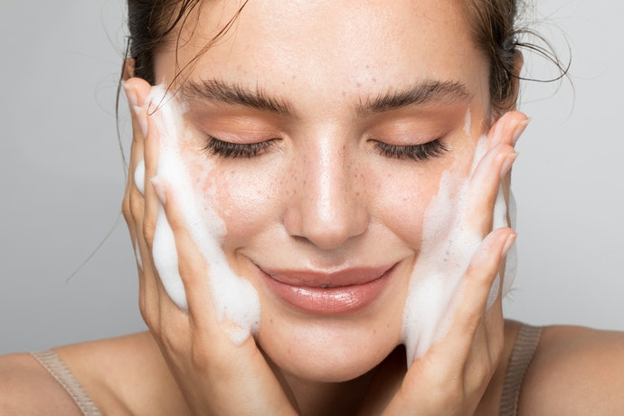 Stick With a Gentle Facial Cleanser