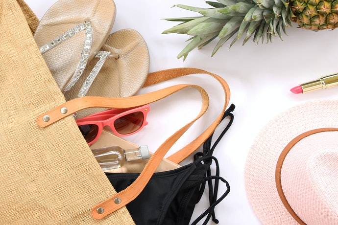 Pick a Beach Tote With Comfortable Straps