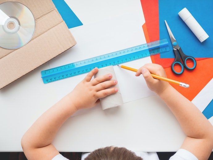 Determine What Kind of Paper or Fabric Your Child Will be Cutting