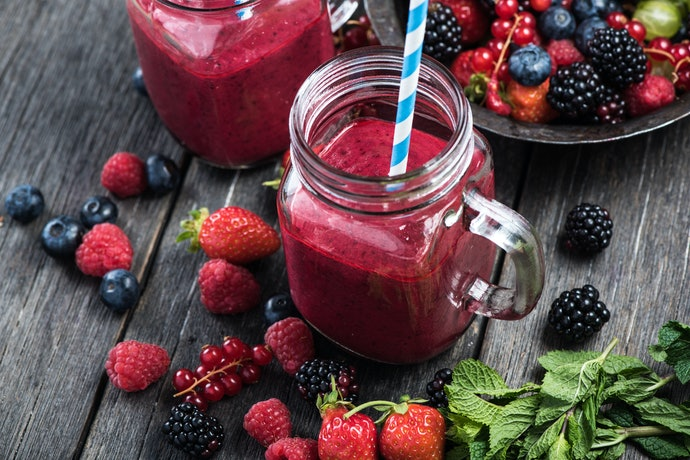 Fruit Smoothie Mixes Pair Well With Other Flavors