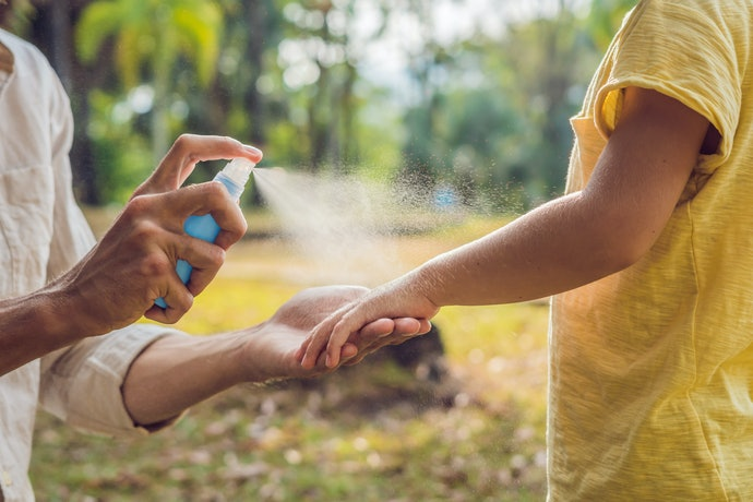 Spray Repellents are Easy to Use