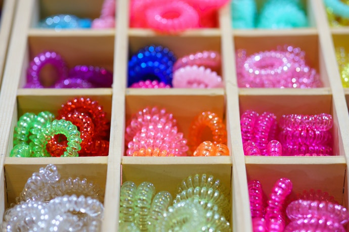 Spiral Hair Ties for a Secure Grip With No Damage