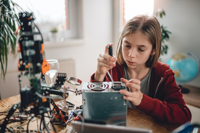 Junior High and High School Kids Prefer More Tinkering with Different Sciences