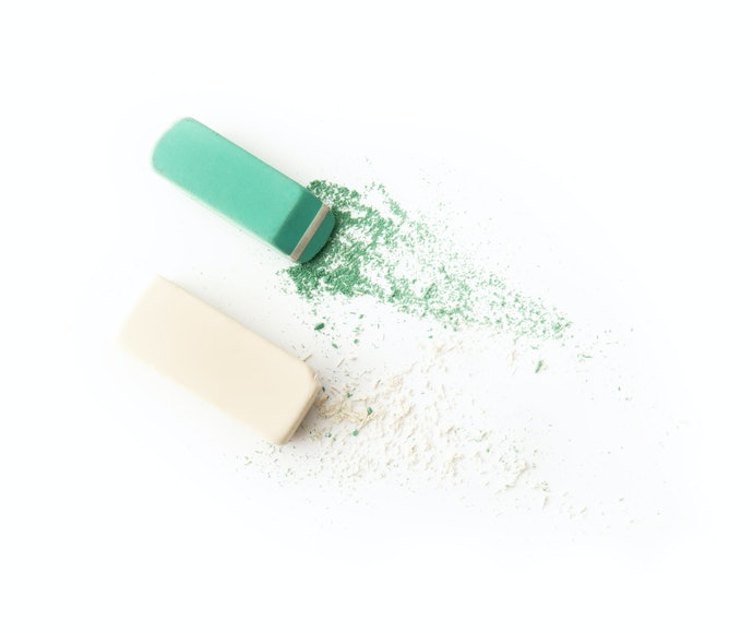 The Trendy and Durable Vinyl Eraser