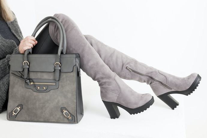 Heel Style Affects the Look and Stability