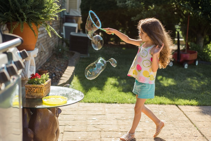 Get a Bubble Wand Set for a Complete Experience