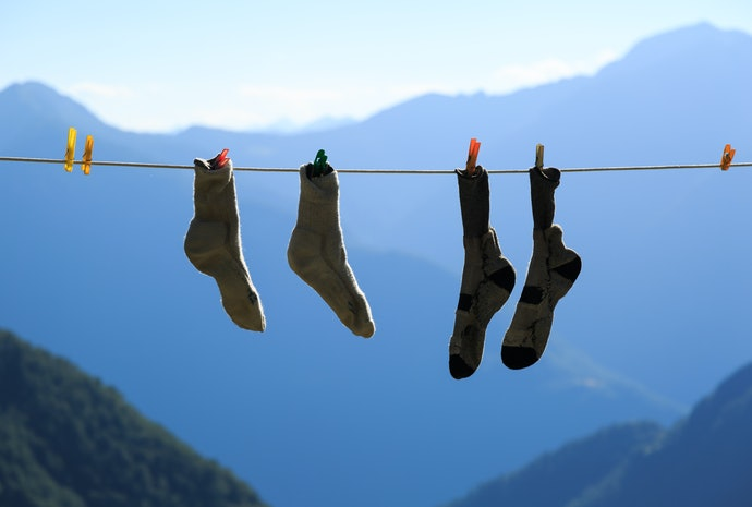 Wash Slipper Socks in Cold Water and Line Dry for Maximum Longevity