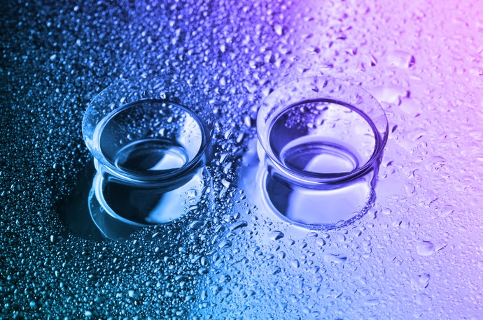 Rigid Gas Permeable Contact Lenses Need Rewetting Eye Drops