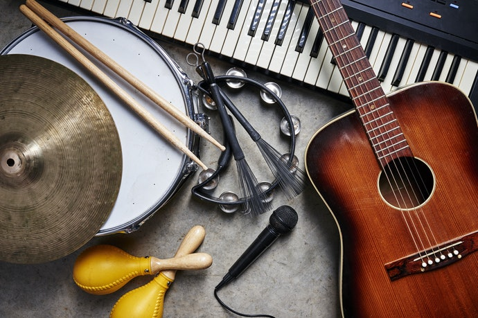 Pick from the Musical Instrument Families