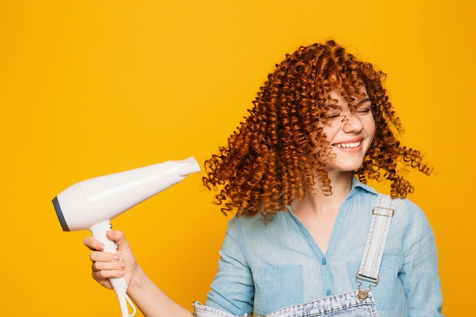 Curly or Wavy Hair Needs High Heat to Keep Curls in Place