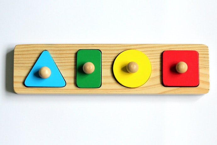 Knob or Peg Wooden Jigsaw Puzzles are Great for Toddlers