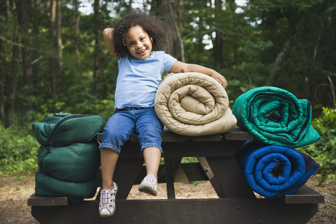 Consider a Traditional Sleeping Bag for Older  Toddlers
