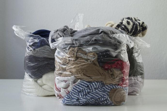 Plastic Bags Make Organization Easy