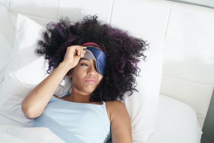 Light-Blocking Eye Pillows Can Help You Sleep Better