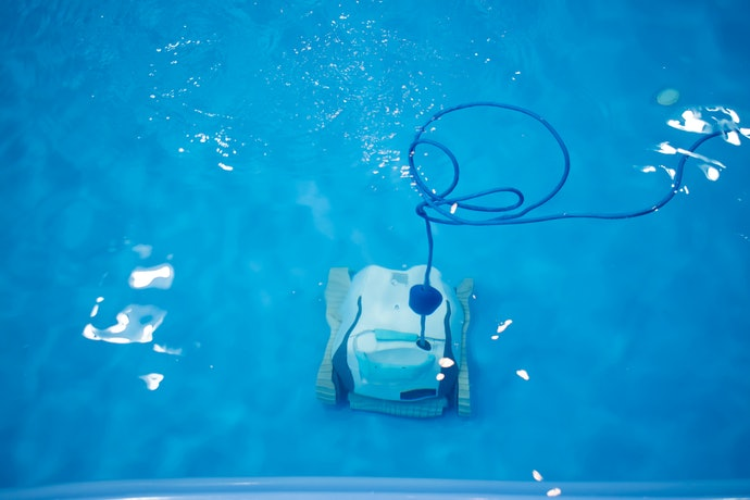 Splurge on Robotic Pool Cleaners for a Plug-and-Play Option