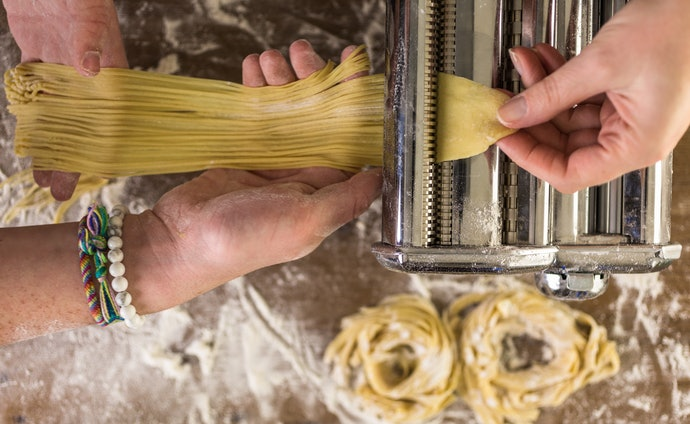 Blades for Making Flat Noodle Shapes