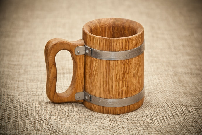Travel Back in Time With a Wooden Tankard