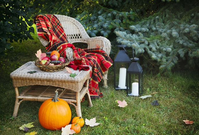 Create a Fall Retreat if You Have a Lot of Space