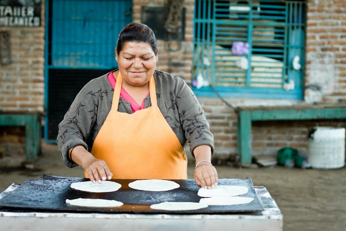 Or How About Delectable Flour Tortillas?