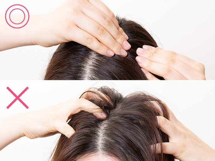 Start off by Slowly and Thoroughly Cleansing Your Scalp