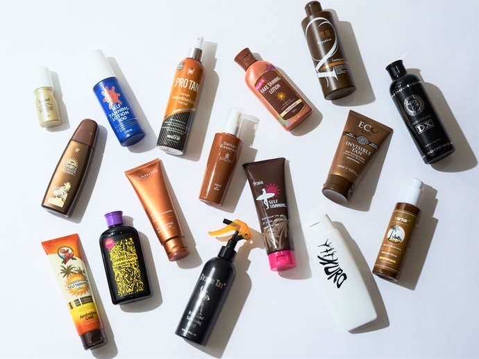How We Tested the Japanese Tanning Lotions