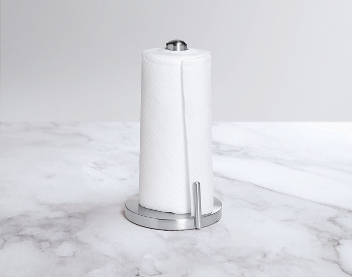 Set Up a Standing Paper Towel Holder With Ease