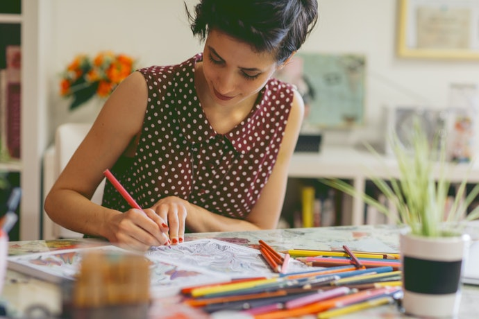 Adults Love to Use Washable Markers, Too