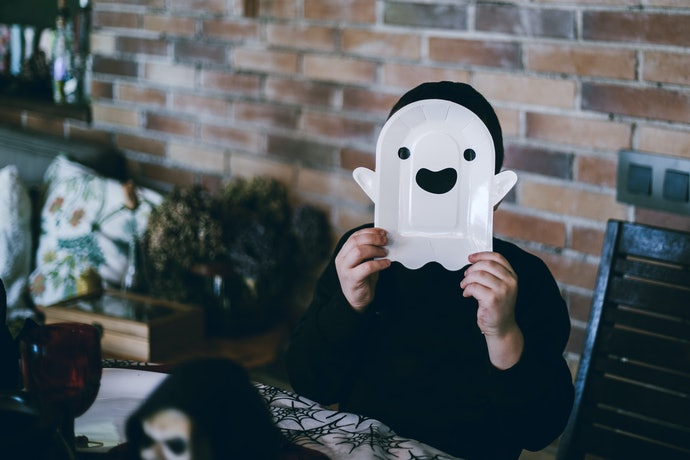 Cartoon Ghosts are Cute and Playful