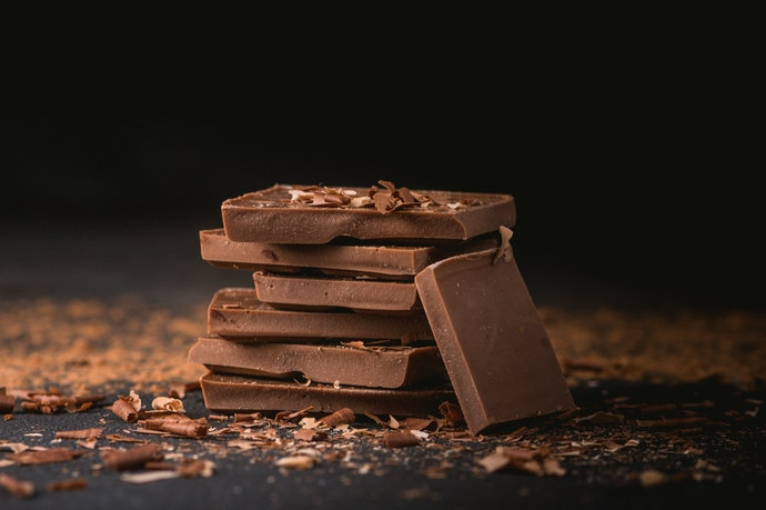 Milk Chocolate is Creamy and Contains a Low Percentage of Cacao
