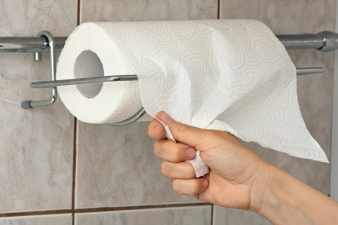 Save Space With a Wall-Mounted Paper Towel Holder