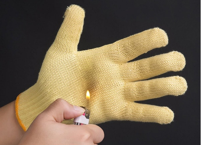 Aramid and Kevlar Gloves are Highly Heat-Resistant