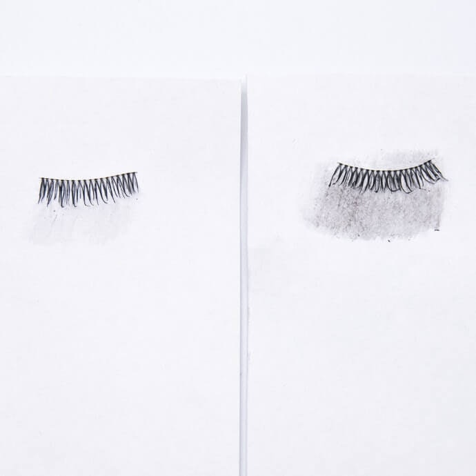 Dense Liquid Waterproof Mascaras Were Not Only Resistant to Water, but Also to Rubbing