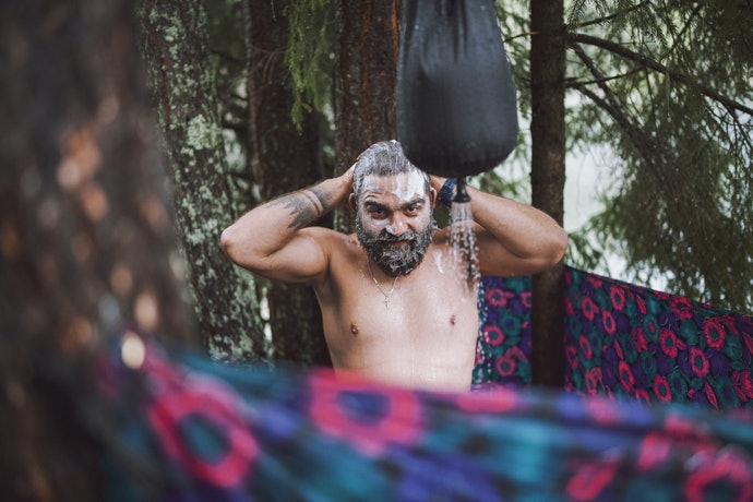 Why It's Important to Shower When You Camp