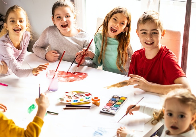 Develop Social Skills with Crafts That Promote Conversation