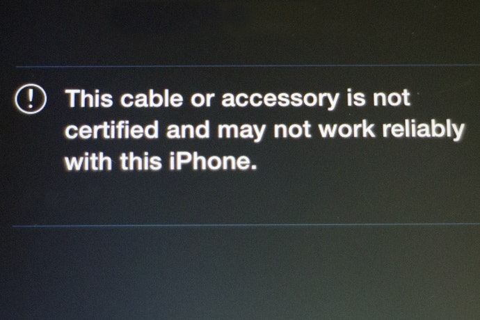 """Check for """"Made for iPhone"""" Certification"""