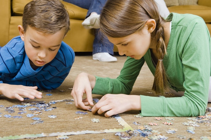 Complex Puzzles are Best for Elementary-Aged Kids