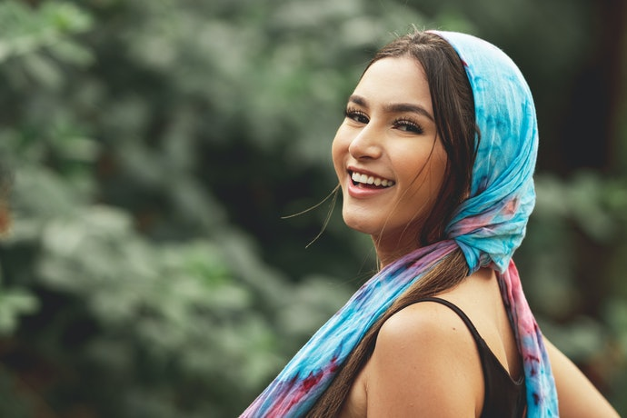 Pick a Head Scarf Based on Its Material
