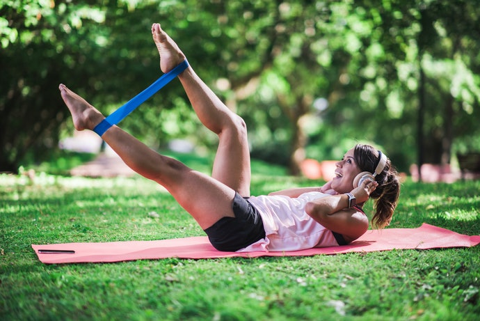 Mini Loop Bands are Great for Lower Body Workouts