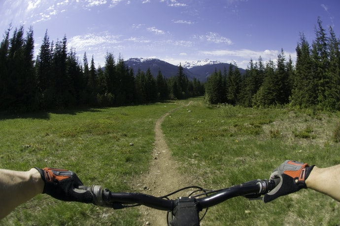 Mountain Biking Gloves Require Grip and Protection