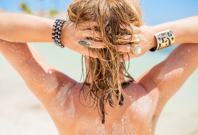 Saltwater Spray Works for a Sun-Kissed Summery Look