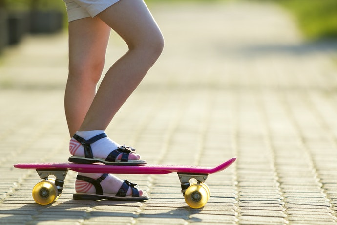 Ankle-Length Slipper Socks Leave Legs Bare