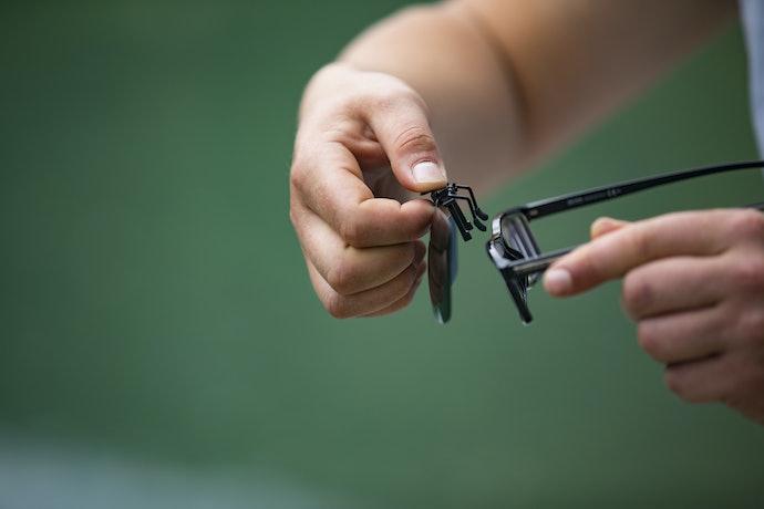 Prescription Versus Clip-On Sunglasses