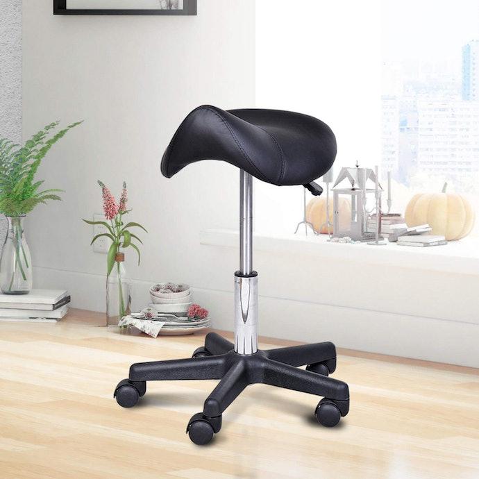 Saddle Ergonomic Chairs Alleviate Lower Back Strain